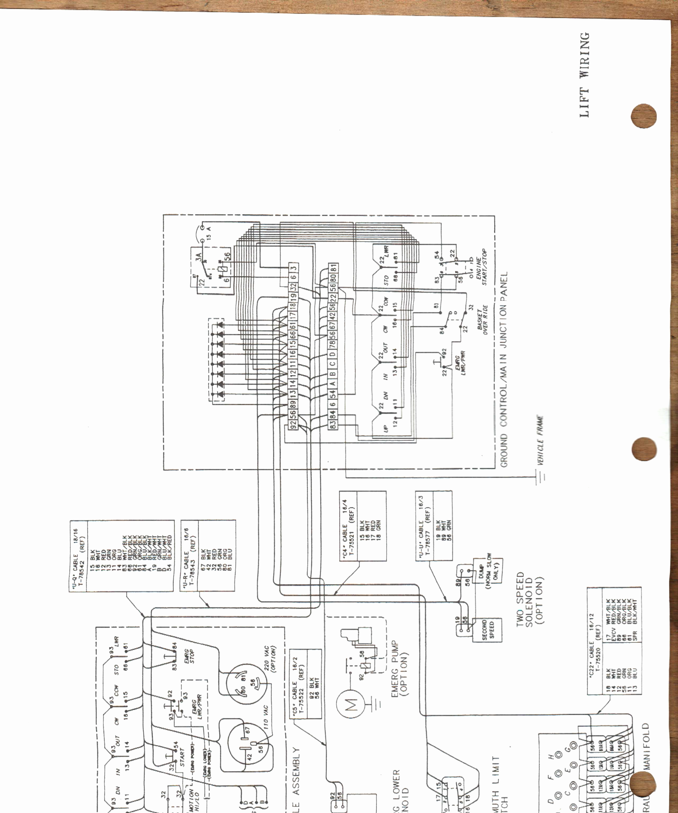 Versalift Bucket Truck Wiring Diagram Sample