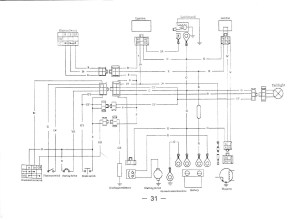 Collection Of Wiring Diagram for 110cc 4 Wheeler Sample