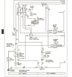 lawn mower starter solenoid wiring diagram free download wiringjohn deere f525 wiring harness wiring diagram repair [ 1691 x 2188 Pixel ]