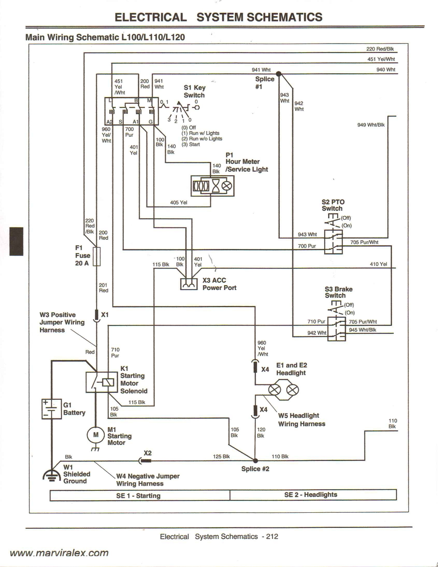 hight resolution of wiring diagram for john deere d130 wiring libraryjohn deere ignition switch wiring 15