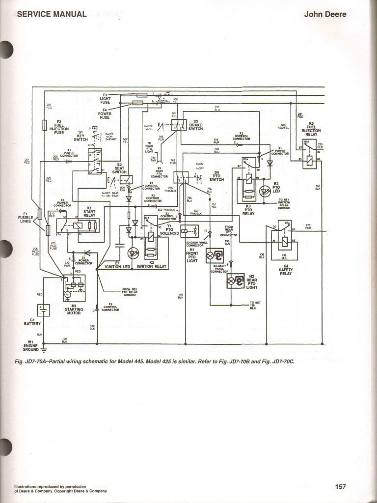 Collection Of Wiring Diagram for John Deere Riding Lawn Mower Download