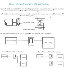 wiring diagram for motorized blinds [ 1000 x 1000 Pixel ]