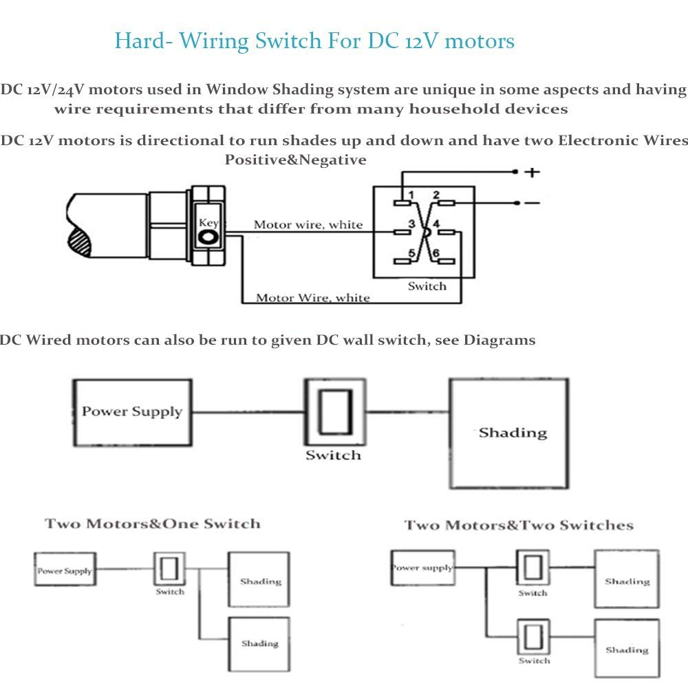 medium resolution of wiring diagram for motorized blinds
