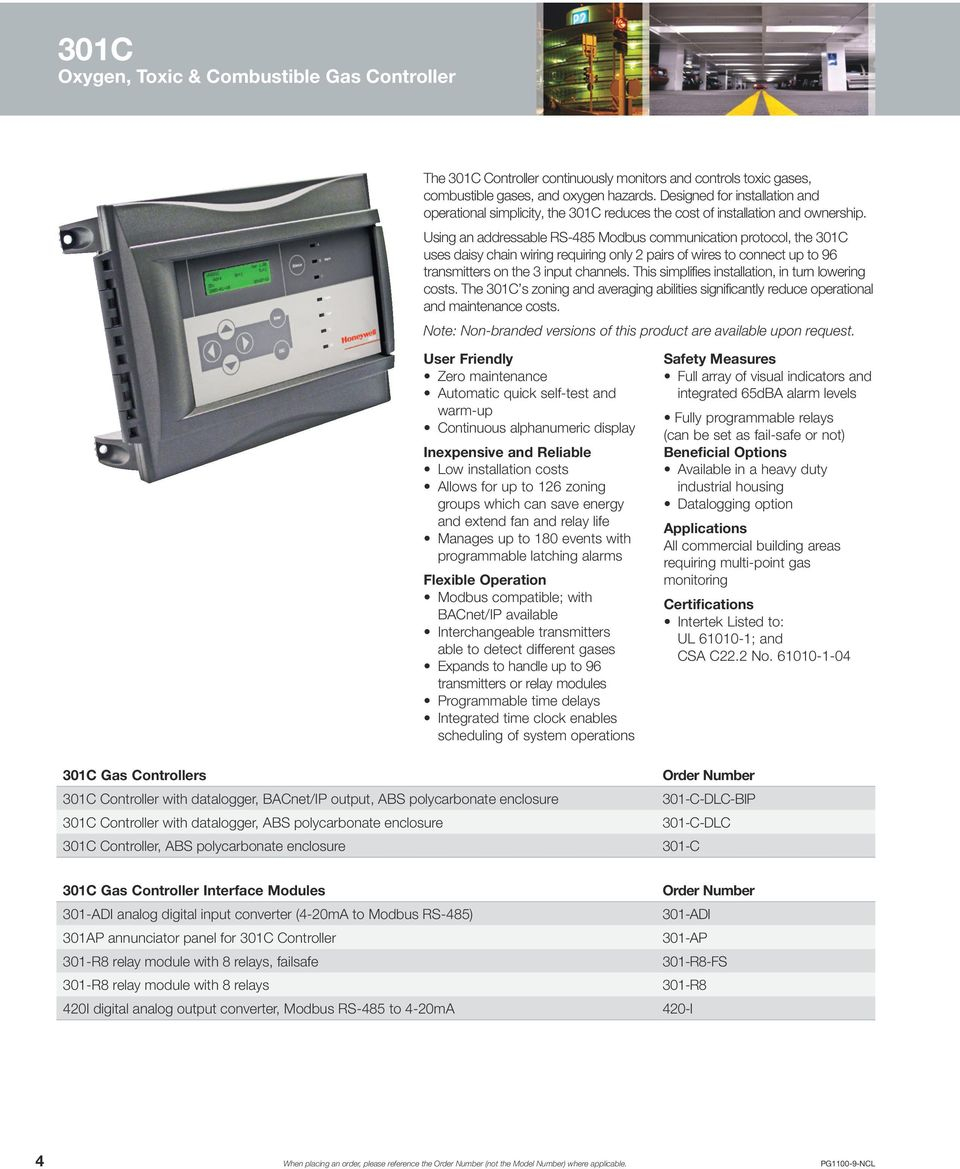 hight resolution of xnx honeywell gas detector wiring diagram using an addressable rs 485 modbus munication protocol the