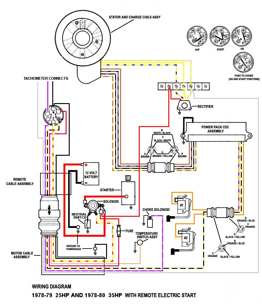 hight resolution of diagram of 1989 mercury marine mercury outboard 1150425gd key switch mercury dts wiring diagram