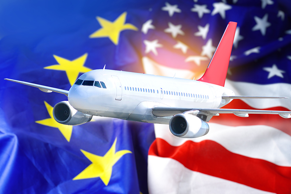 In an attempt to restore air travel between the U.S. and Europe, airlines in the U.S. and Europe want a coordinated COVID-19 testing program.