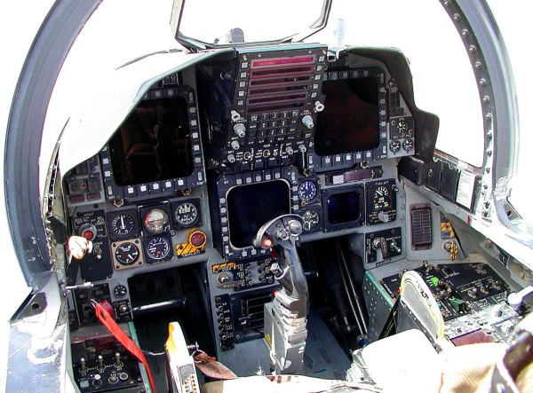 F 15 Cockpit - Year of Clean Water