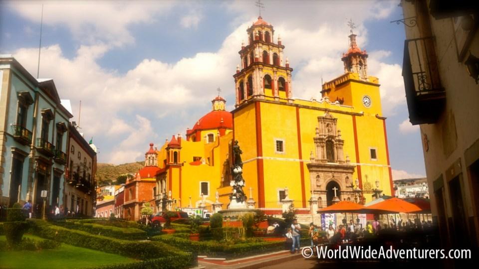 Guanajuato Main Plaza