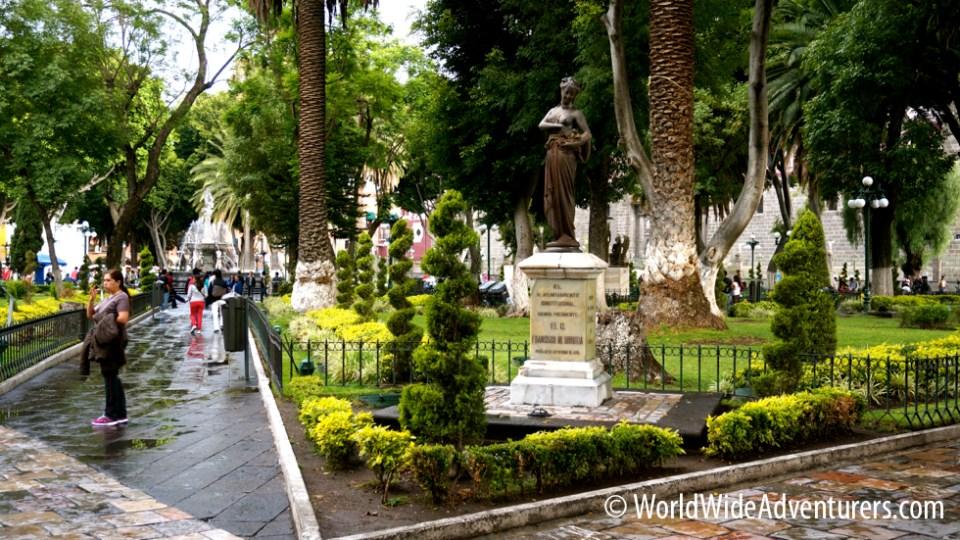 Puebla Zocalo Mexico