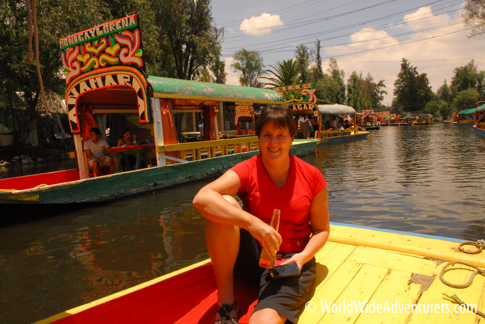 Xochimilco - floating down the canals!