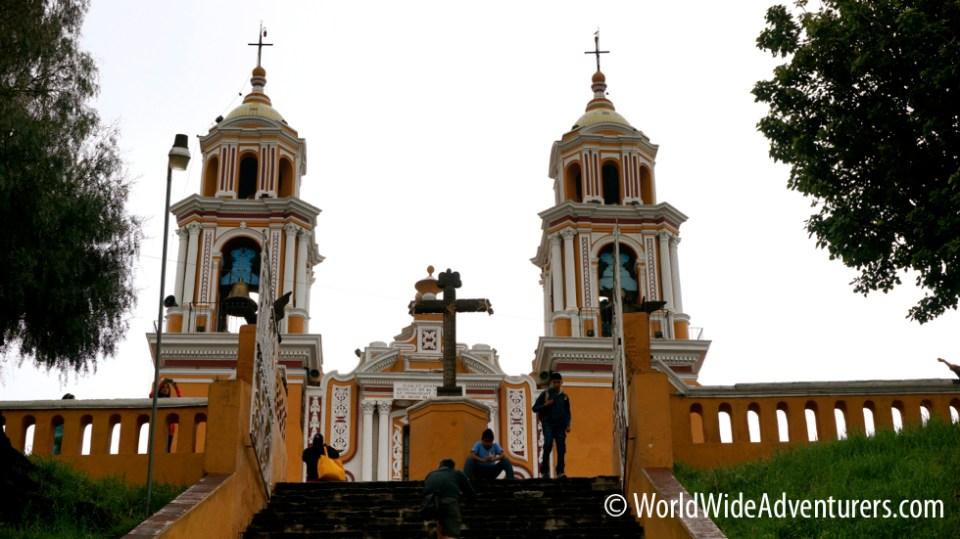 Church Cholula
