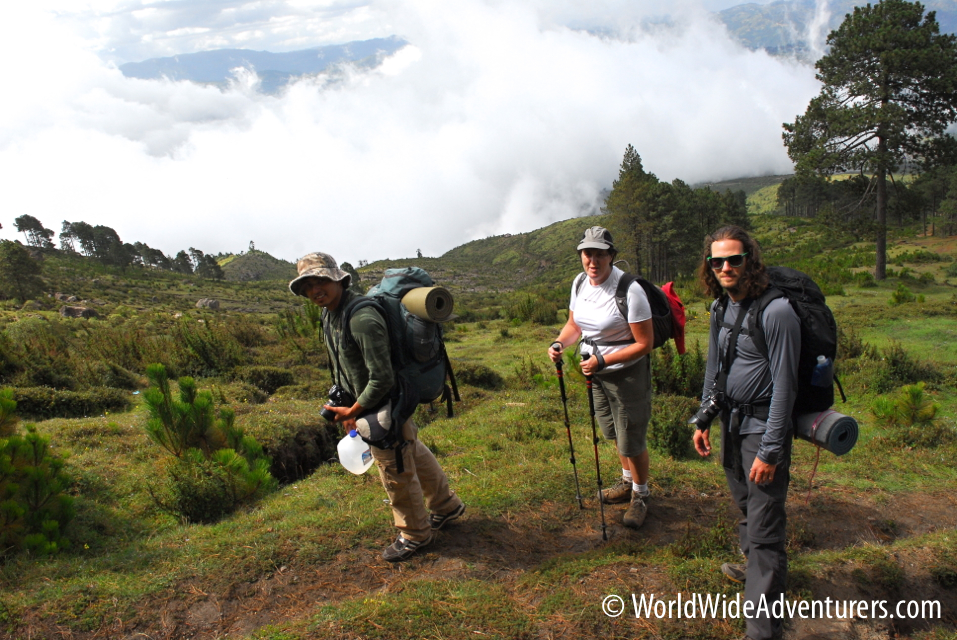 Volcano Hiking: Tajumulco Guatemala