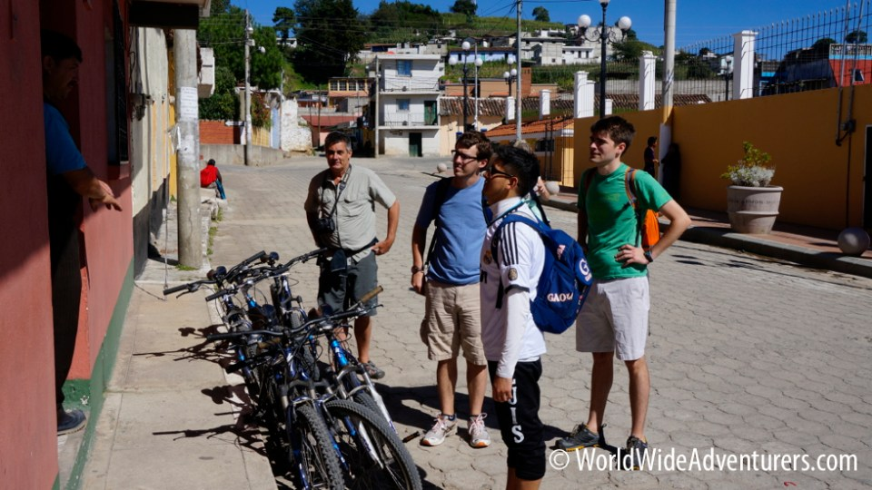 Biking in Qutezeltenango