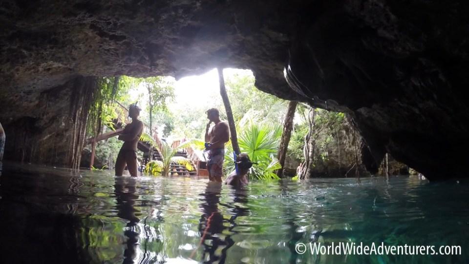 Grand Cenote Yucatan Mexico