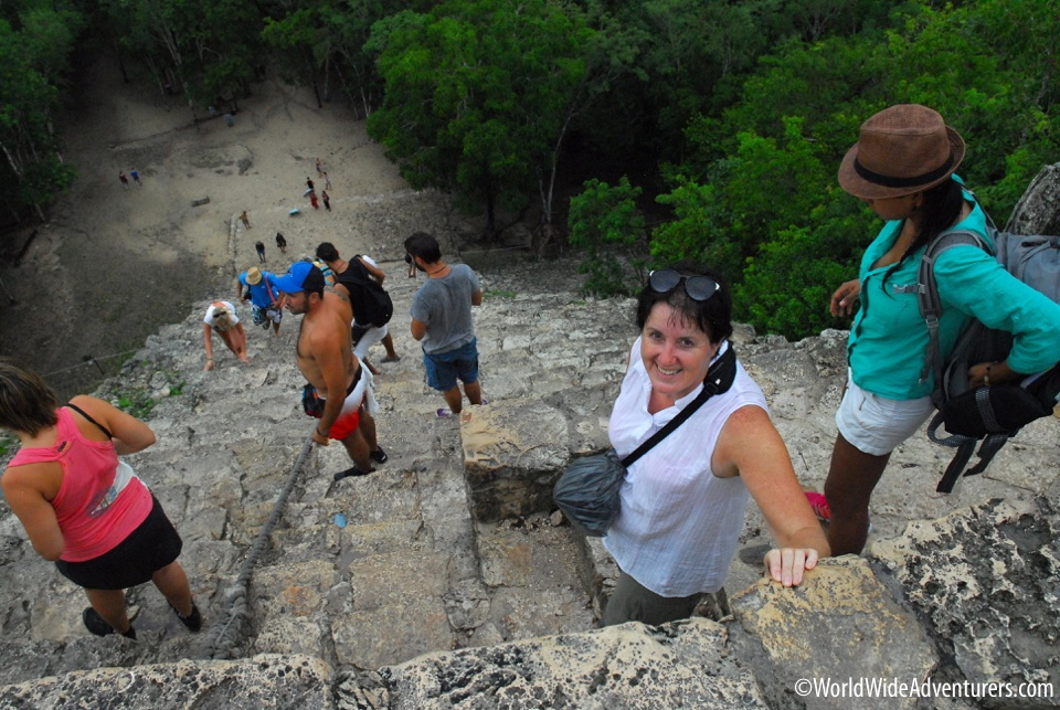 Coba Mayan Ruins - Jungle Encounter