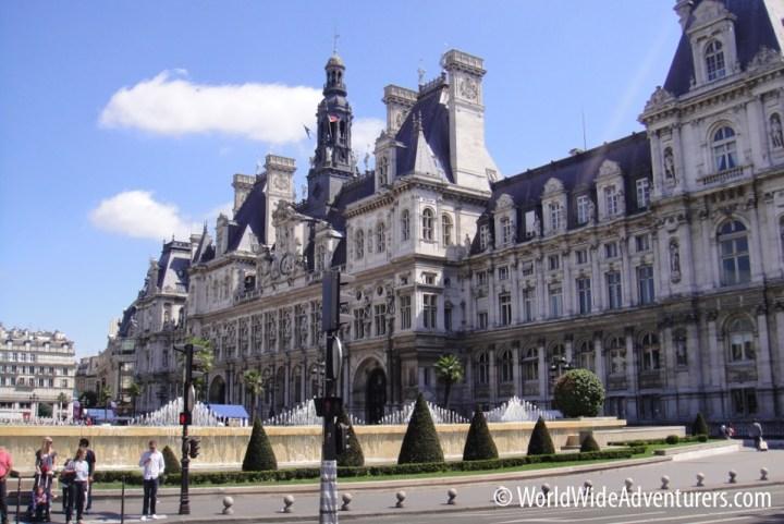 Hotel D'Ville Paris France