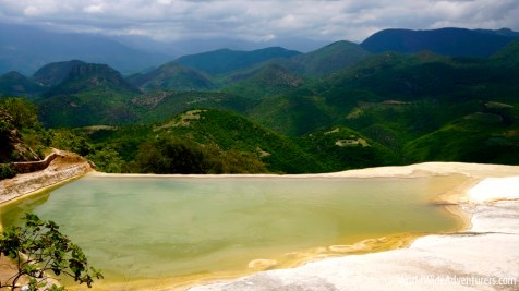 HIERVE EL AGUA - The Petrified Waterfall