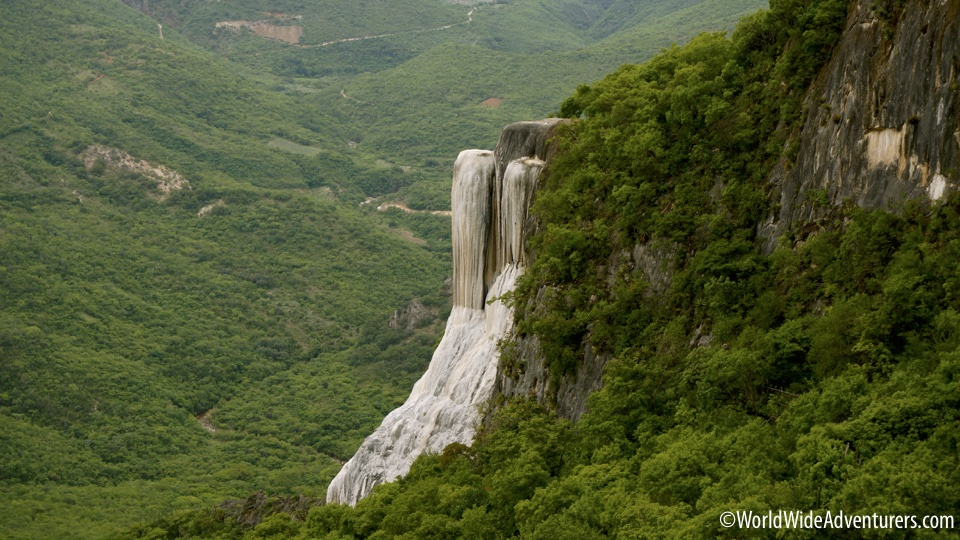 What is a  Petrified Waterfall?
