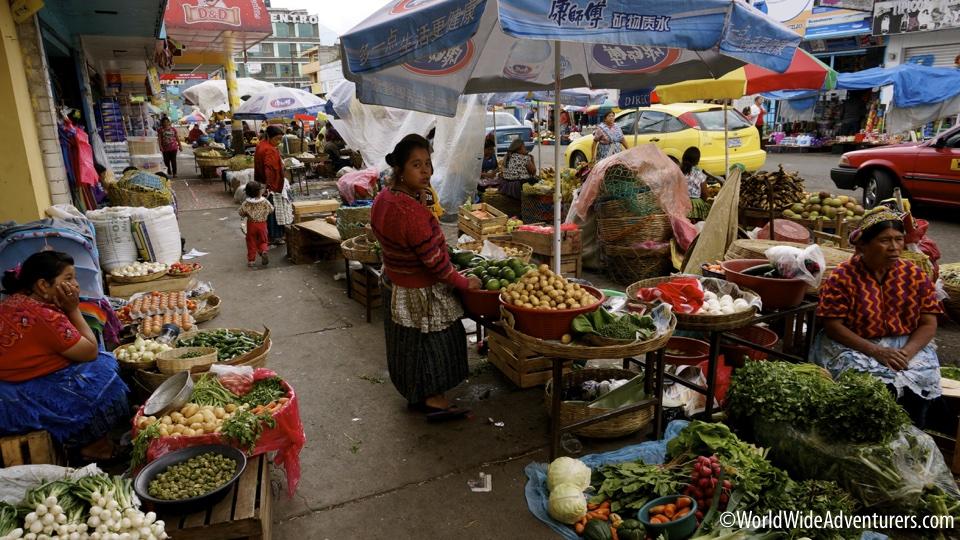 Markets Quetzaltenango