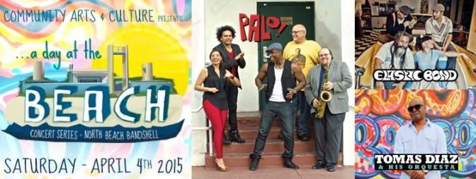 04 de abril - Palo en el North Beach Bandshell. Miami, Florida