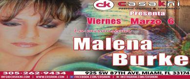 Malena Burke en Miami
