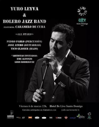 "Javier ""Caramelo"" Massó junto a Yuro Leyva & bolero Jazz Band en Madrid"