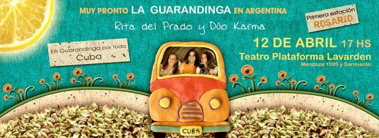 12 de abril - Dúo Karma y Rita Del Prado en Plataforma lavardén de Rosario