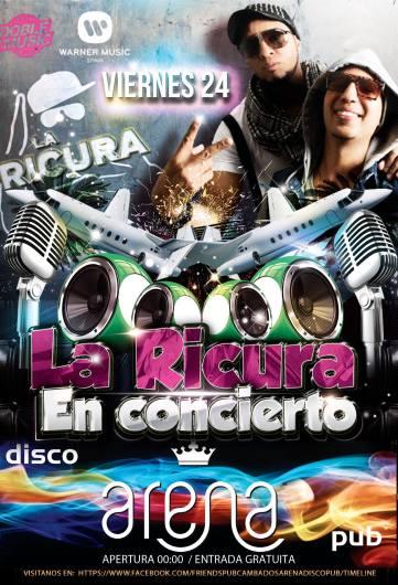 24 de abril - La Ricura en Pub Arena de Cambados, Pontevedra
