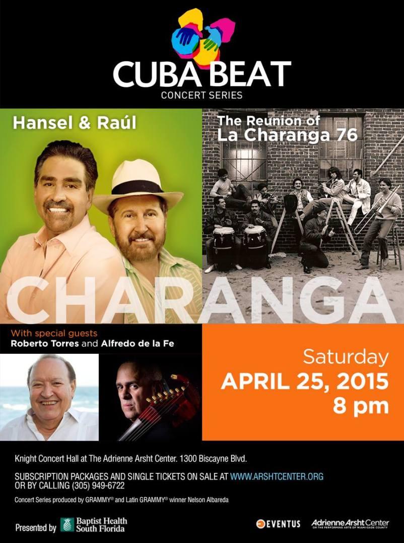 25 de abril - Hansel y Raúl en Adrienne Arscht Center de Miami, Florida