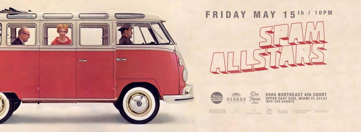 15 de mayo - Spam Allstars en The News Lounge de Miami, Florida
