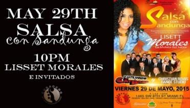 29 de mayo - Lisett Morales en Cubaocho de Miami, Florida