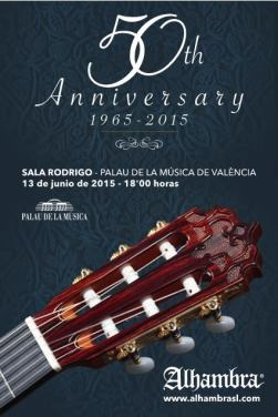 13 de junio - Alí Arango y + en el Palau de la Música de Valencia