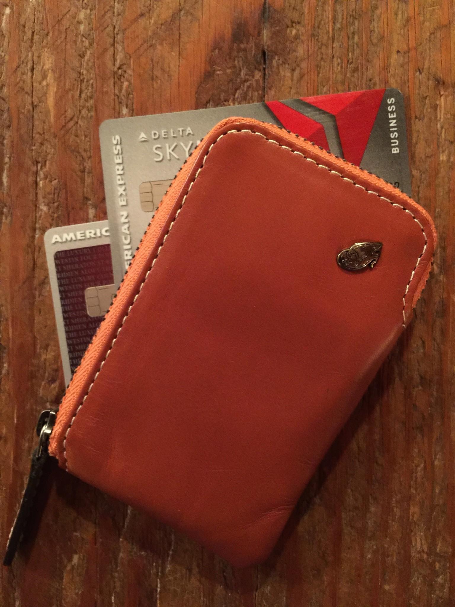 Bellroy Leather Card Pocket Wallet