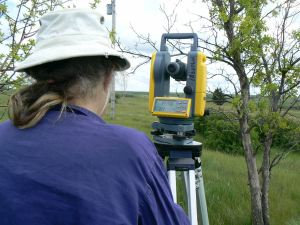 elevations measurement on Finca del Sol Albertasite photo