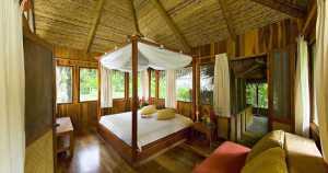 Lapa Rios bungalow