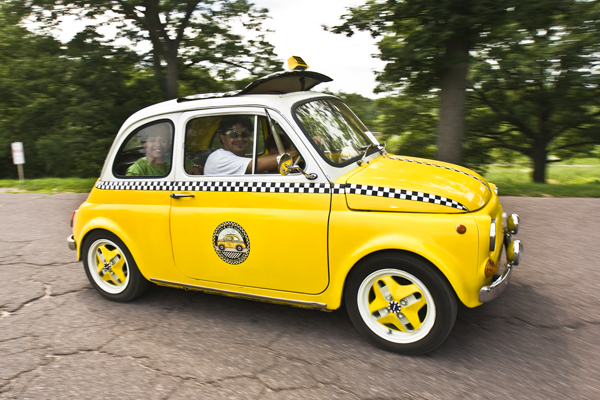 A Fiat 500 taxi anyone?