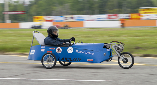 St Peter High School entry in the annual National Capital Elecathon electric car race
