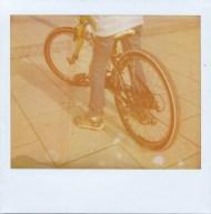 Title: Wheels, Name: Antonino Zambito, Polaroid Image and Polaroid Softtone