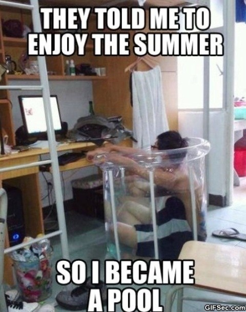 Hot Weather Meme : weather, Summertime,