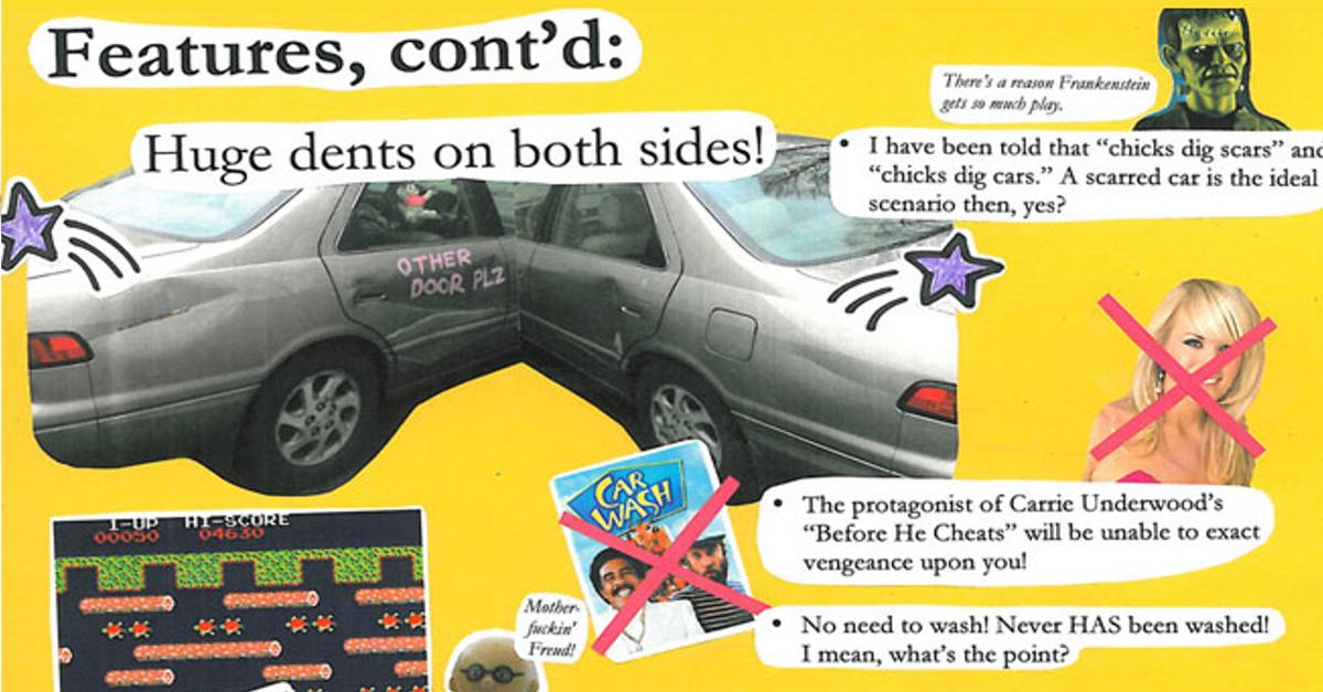 13 hilarious used car