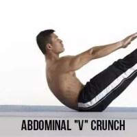 Abdominal V Crunch