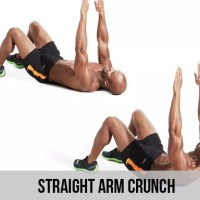Straight Arm Crunch