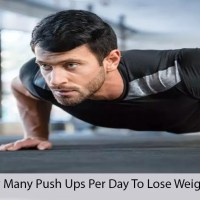 How Many Pushups Per Day To lose Weight