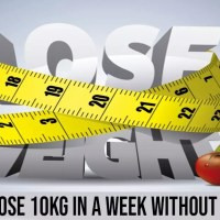 How To Lose 10KG in a Week Without Starving
