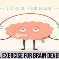 ممارسة الرياضة البدنية للتنمية الدماغ