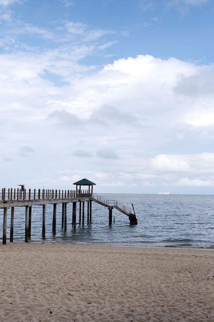 Kerachut Beach jetty