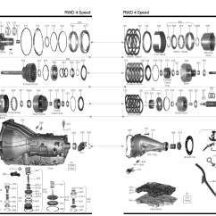 700r4 4x4 Transmission Diagram 6 Pin To 7 Trailer Wiring Ford Aod Master Rebuild Kit From Alto Stage 3