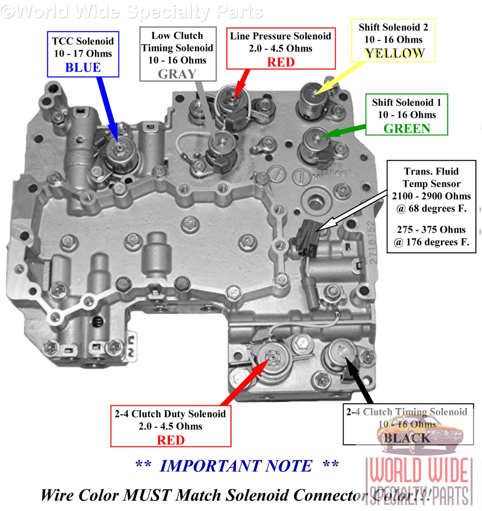 hight resolution of 4eat solenoid id subaru 4eat valve body 2001 2005 lifetime warranty sonnax built automatic