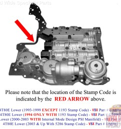 parts 4t80e tran diagram gm 4t80e lower valve body 2003 up lifetime warranty [ 2213 x 1895 Pixel ]