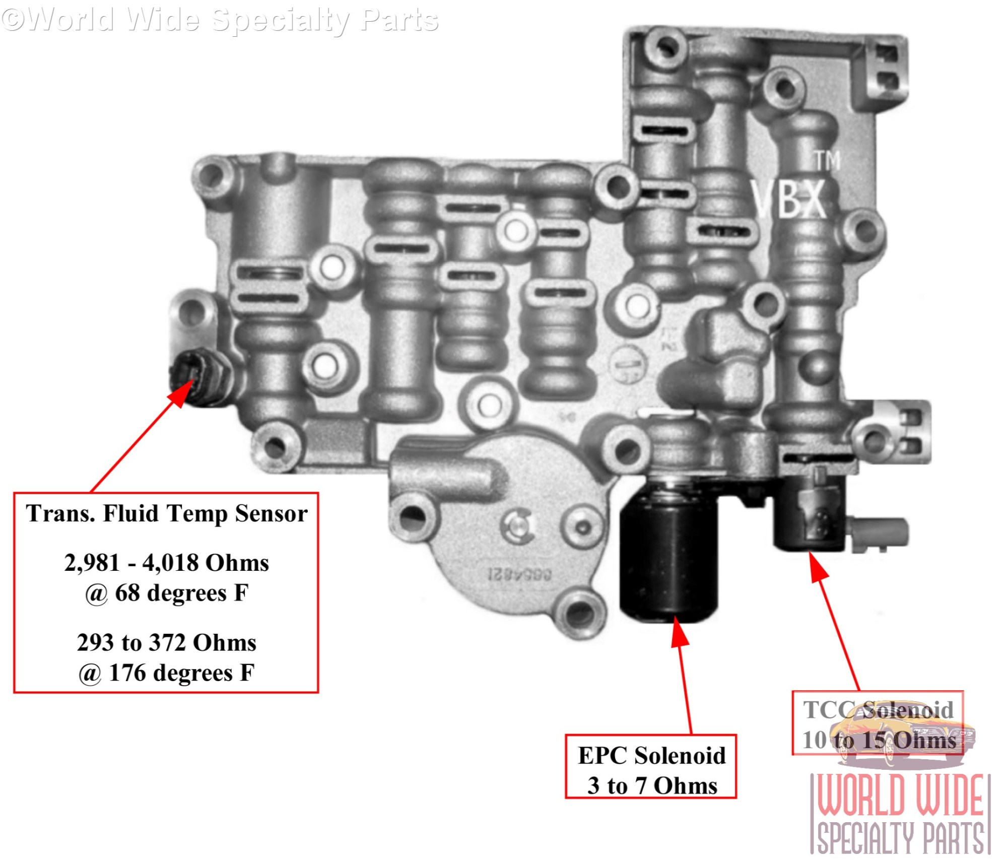 hight resolution of  remanufactured rebuilt 4t80e tran diagram gm 4t80e upper valve body 1993 2003 lifetime warranty